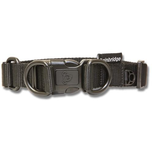 BAINBRIDGE NYLON DOG COLLAR WITH DOUBLE D RING LARGE 2.5x45-68cm
