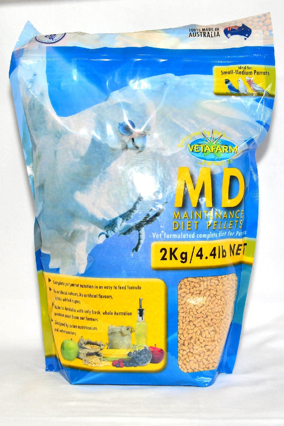 VETAFARM MD MAINTENANCE DIET PELLETS 2KG