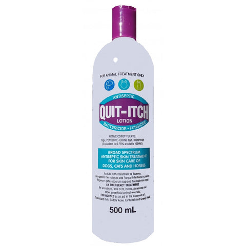 QUIT ITCH 500ML | Southside Stockfeeds