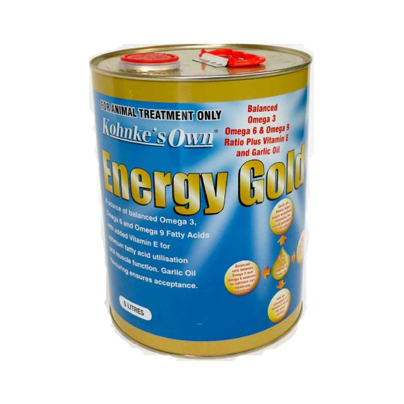 KOHNKE'S OWN ENERGY GOLD 5LTR