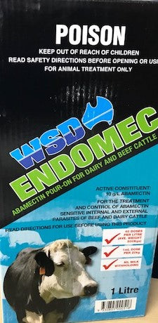 WSD Endomec Pour on 1lt