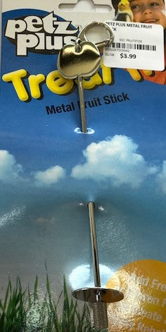 PETZ PLUS METAL FRUIT STICK