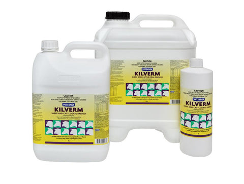 VETSENSE KILVERM SHEEP AND CATTLE ORAL DRENCH 1L