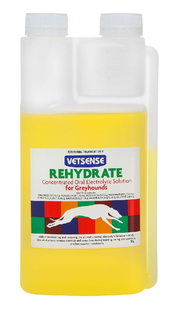 VETSENSE REHYDRATE FOR GREYHOUNDS 1L