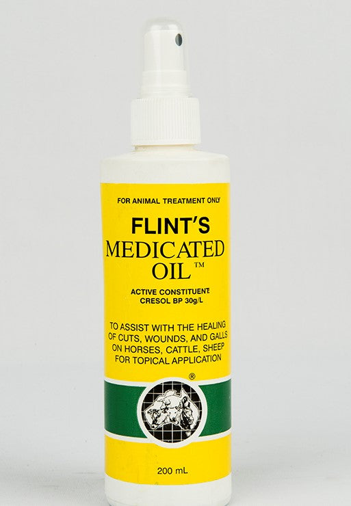 FLINTS MEDICATED OIL 200ML