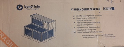 RABBIT HUTCH 4' COMPLEX | Southside Stockfeeds Kilmore
