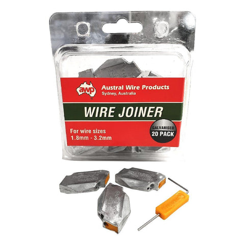 AWP WIRE JOINER 1.8MM x 3.2MM EACH | Southside Stockfeeds Kilmore
