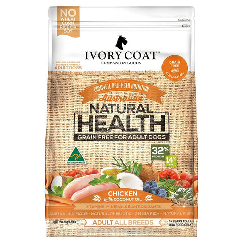 IVORY COAT ADULT DOG CHICKEN & COCONUT 13KG | Southside Stockfeeds