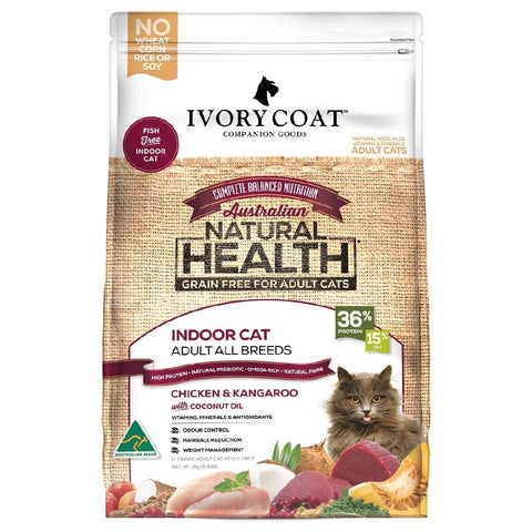 IVORY COAT CAT INDOOR CHICKEN & KANGAROO 3KG | Southside Stockfeeds Kilmore