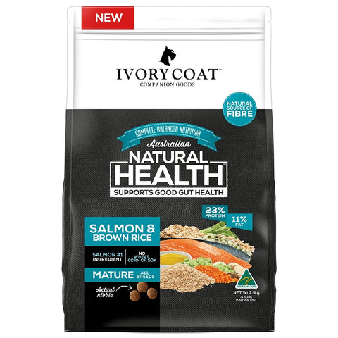 IVORY COAT MATURE OCEAN FISH & BROWN RICE 18KG | Southside Stockfeeds Kilmore