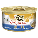 FANCY FEAST CLASSIC CHED GRILLED WHITEFISH WITH GRAVY 85G. | Southside Stockfeeds Kilmore