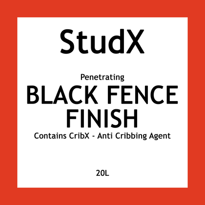 STUDX BLACK FENCE FINISH 20L | Southside Stockfeeds Kilmore