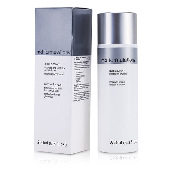 MD Formulations Facial Cleanser Cleanse & Exfoliates (Contains Gliycolic Acid) -250ml/8.3oz