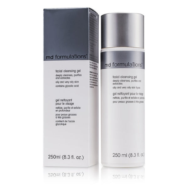MD Formulations Facial Cleansing Gel -250ml/8.3oz