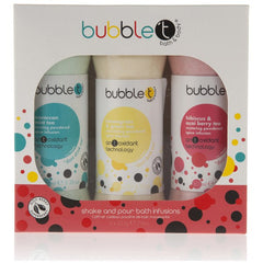 Bubble T Bath and Body Shake and Pour Bath Spice Infusions (3x225g Foaming Bath Powder)