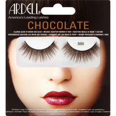 Ardell 886 Lashes - Chocolate Black Brown - kiwla.com