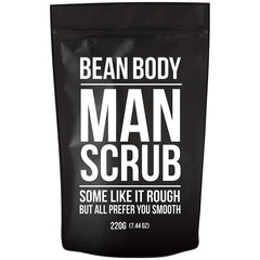 Bean Body Coffee Bean Scrub 220g - Man Scrub