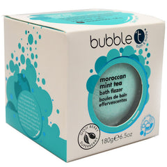 Bubble T Bath Fizzer - Moroccan Mint Tea 180g