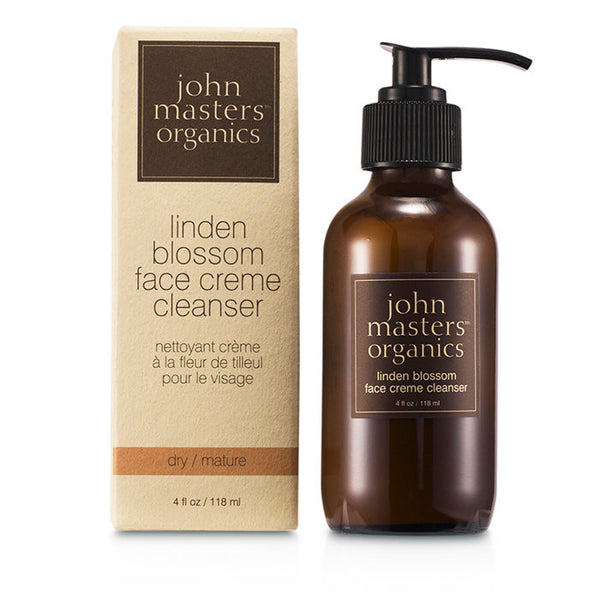 JOHN MASTERS ORGANICS Linden Blossom Face Cream Cleanser (For Dry/ Mature Skin) - 118ml/4oz