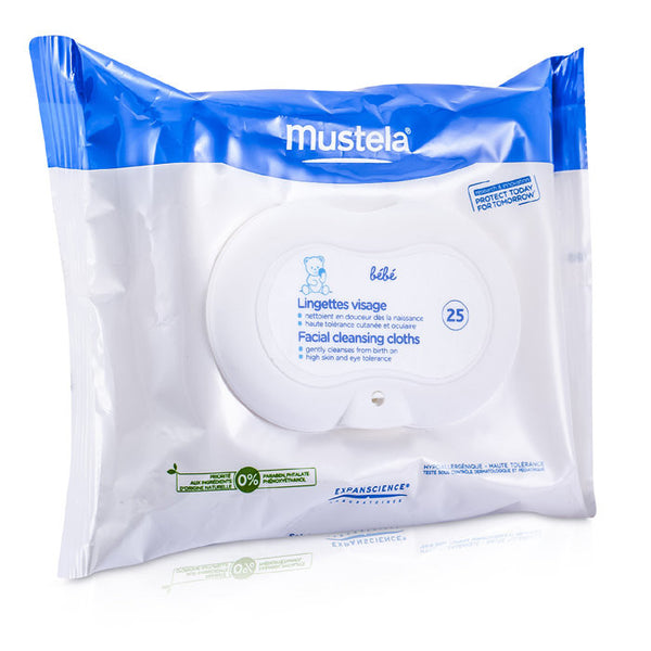 MUSTELA Facial Cleansing Cloths -25cloths