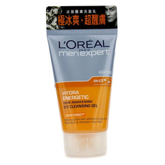 L'Oreal Men Expert Hydra Energetic Skin Awakening Icy Cleansing Gel - 100ml / 3.4oz