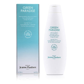 Methode Jeanne Piaubert Green Paradise Gentle 3-In-1 Hypoallergenic Cleanser (For Face & Eyes) - 200ml/6.66oz