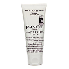 Payot Absolute Pure White Clarte Du Jour SPF 30 Hydrating Protecting Lightening Day Cream (Salon Size) -  100ml/3.3oz
