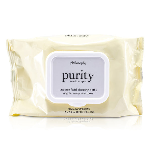 PHILOSOPHY Purity Made Simple One-Step Facial Cleansing Cloths -30towlettes
