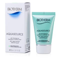 Biotherm Aquasource 48H Deep Hydration Replenishing Gel (Normal/Combination Skin) -  30ml/1oz