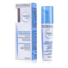 Bioderma Hydrabio Moisturising Light Cream (For Dehydrated Sensitive Skin) - 40ml/1.35oz