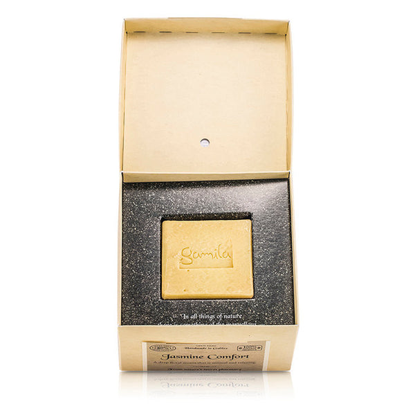 Gamila Secret Cleansing Bar - Jasmine Comfort (For Normal to Combination Skin) - 115g