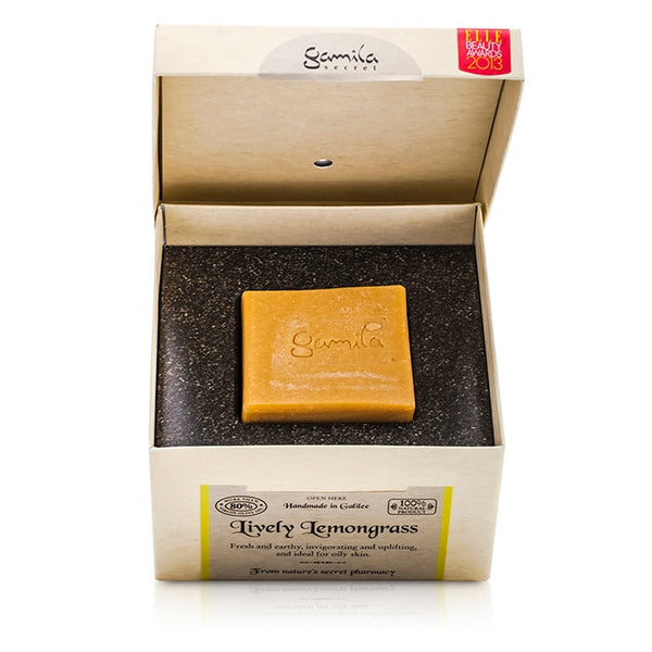 GAMILA SECRET Cleansing Bar - Lively Lemongrass (For Combination to Oily Skin) - 115g