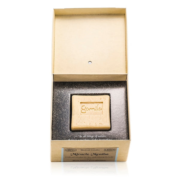 Gamila Secret Cleansing Bar - Miracle Mentha (For Combination to Oily Skin) - 115g