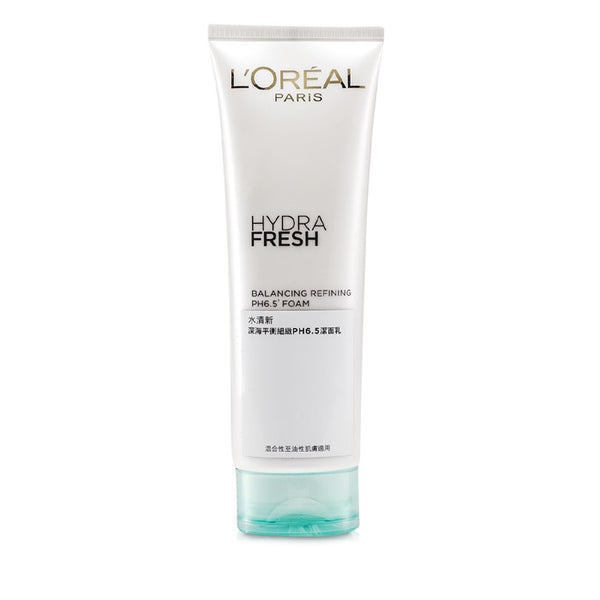 L'Oreal Hydra Fresh Balancing Refining PH6.5 Foam -125ml/4.2oz