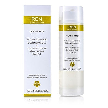 REN Clarimatte T-Zone Control Cleansing Gel (For Combination To Oily Skin) - 150ml/5.1oz