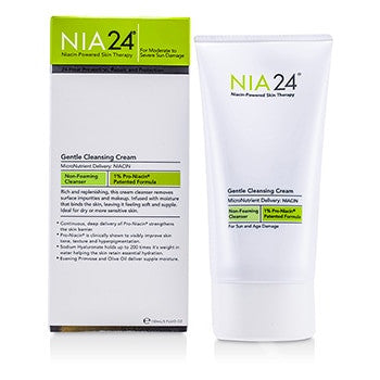 NIA24 Gentle Cleansing Cream (For Dry/Sensitive Skin) -150ml/5oz