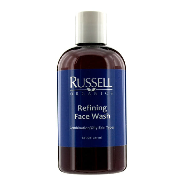 Russell Organics Refining Face Wash (For Combination / Oily Skin) - 237ml/8oz