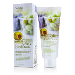 3W Clinic Hand Cream - Olive - 100ml/3.38oz - kiwla.com