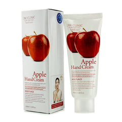 3W Clinic Hand Cream - Apple - 100ml/3.38oz - kiwla.com