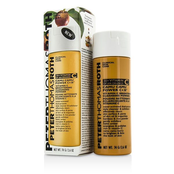 Peter Thomas Roth Camu Camu Power Cx30 Vitamin C Brightening Cleansing Powder -74g/2.6oz