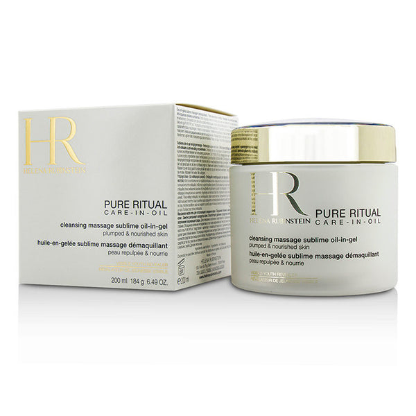 HELENA RUBINSTEIN Pure Ritual Care-In-Oil Cleansing Massage Sublime Oil-In-Gel - 200ml/6.49oz