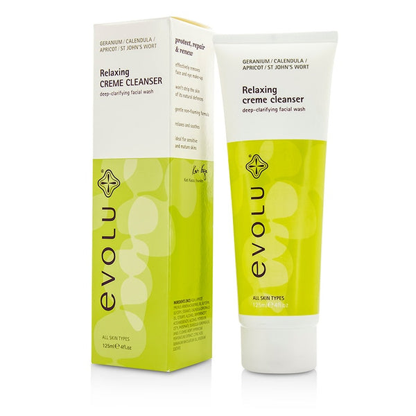 Evolu Relaxing Creme Cleanser -125ml/4oz