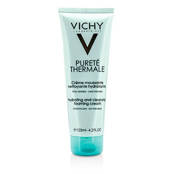 VICHY Purete Thermale Hydrating And Cleansing Foaming Cream - For Sensitive Skin - 125ml/4.2oz