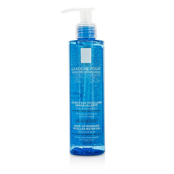 La Roche Posay Physiological Make-Up Remover Micellar Water Gel - For Sensitive Skin -195ml/6.59oz