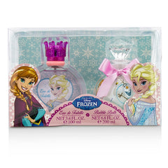 Air Val International Disney Frozen Coffret: Eau De Toilette Spray 100ml/3.4oz + Bubble Bath 200ml/6.8oz - 2pcs - kiwla.com