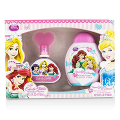 Air Val International Disney Princess Coffret: Eau De Toilette Spray 100ml/3.4oz + Shower Gel & Shampoo 300ml/10.2oz - 2pcs - kiwla.com