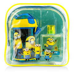 Air Val International Minions Coffret: Eau De Toilette Spray 50ml/1.7oz + Water Bottle + Backpack - 2pcs+1bag - kiwla.com