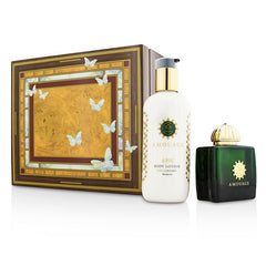AMOUAGE  Epic Coffret: Eau De Parfum Spray 100ml/3.4oz + Body Lotion 300ml/10oz - 2pcs - kiwla.com