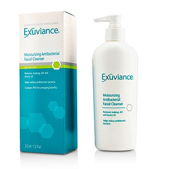 Exuviance Moisturizing Antibacterial Facial Cleanser - For Oily/ Acne Prone Skin - 212ml/7.2oz