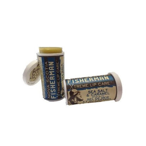 Nova Scotia Fisherman Sea Salt N Caramel Lip Balm with Kelp - 0.35 oz